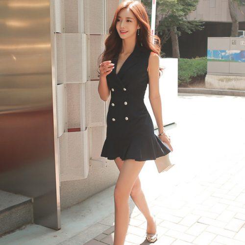 Korean fashion dress supplier in china