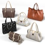 louis vuitton women bag chanel prada luxury handbag hand accessory brown black white realistic best bags collection set.jpg487a6a19-4c34-40f2-8461-884498daf9aeLarger