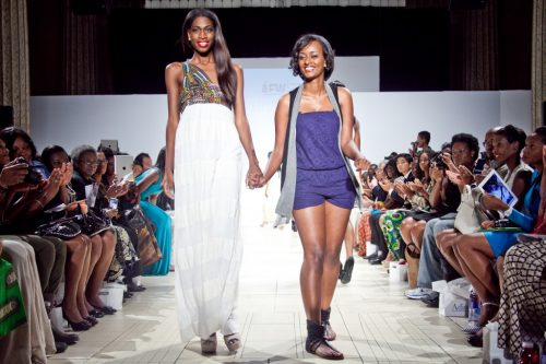 Fikirte Addis at Africa Fashion Week