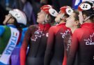 Canadian Women's 3,000m Short-track Relay Team