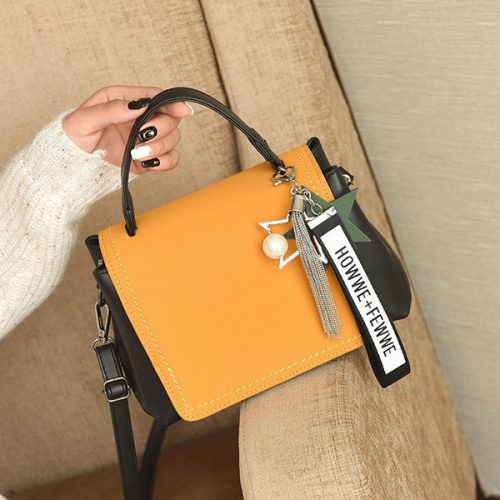 Chic Korean Dull Polish Street Out Shoulder Bag