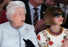 91-year-old British Queen & Dame Anna Wintour