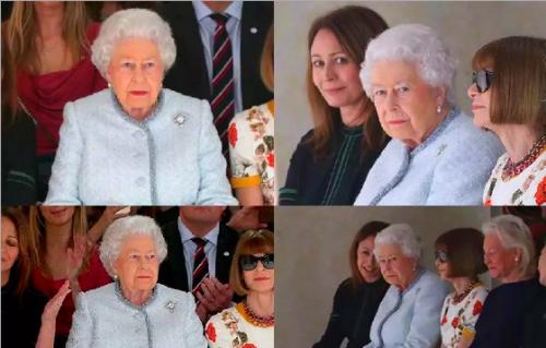 British Queen & London Fashion Show