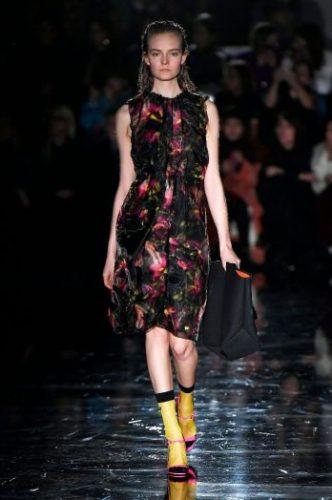 Prada's Fall 2018 Collection at Milan Fashion Week