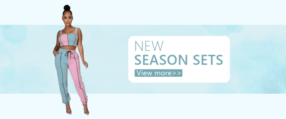 Amazing Discounts In The New Season Sets