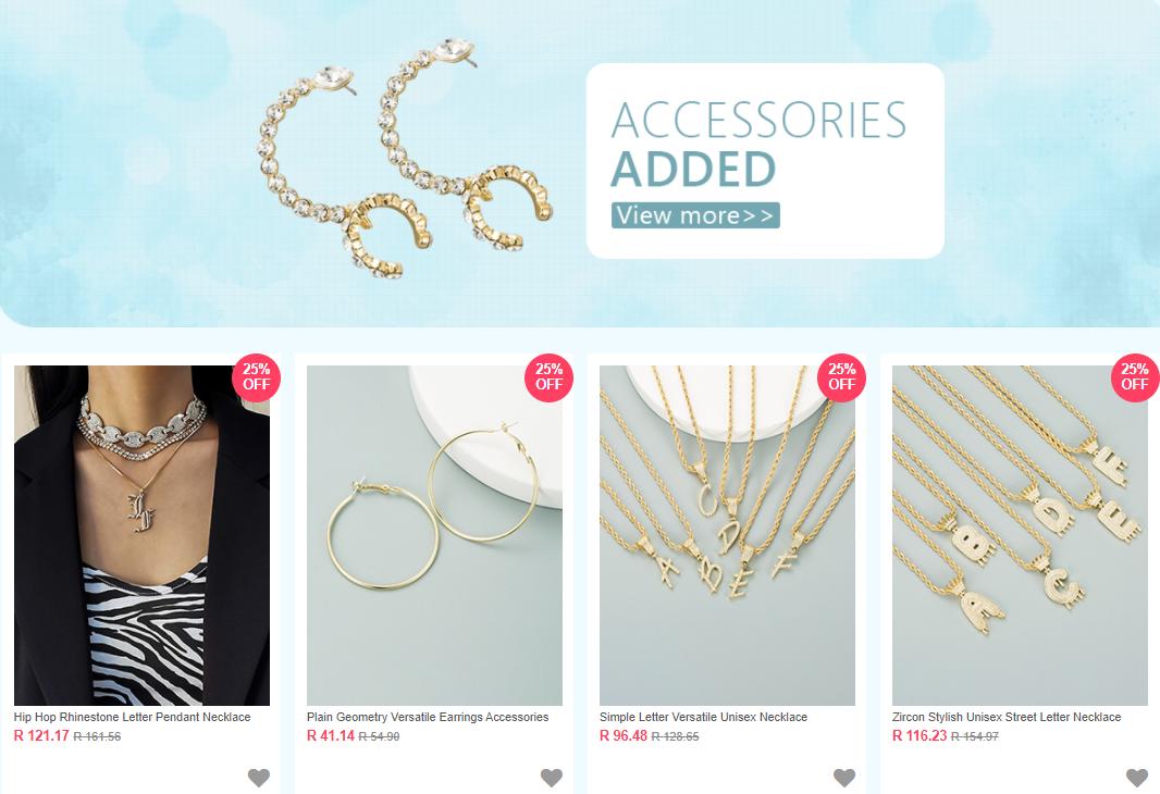 Beautiful Discounts On Beautiful Accessories