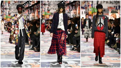 Dior fall and winter 2018 women's ready-to-wear runway collection