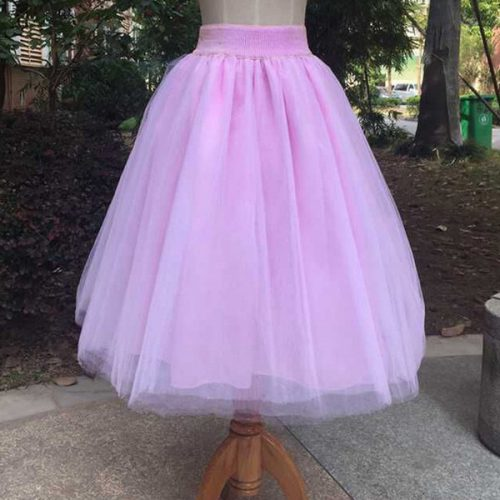 Outlet Cheap Gauze Pleated Princess Skirt