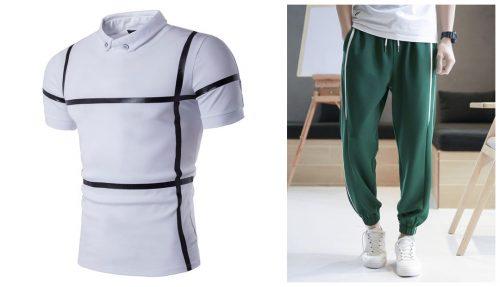men's T-shirt and pants