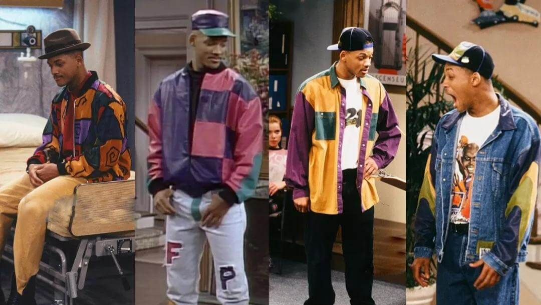 Will Smith in clashing colors