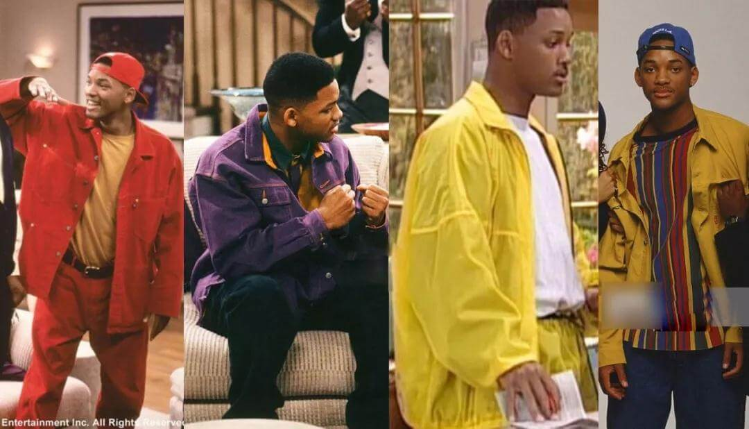Will Smith in  colorful jackets