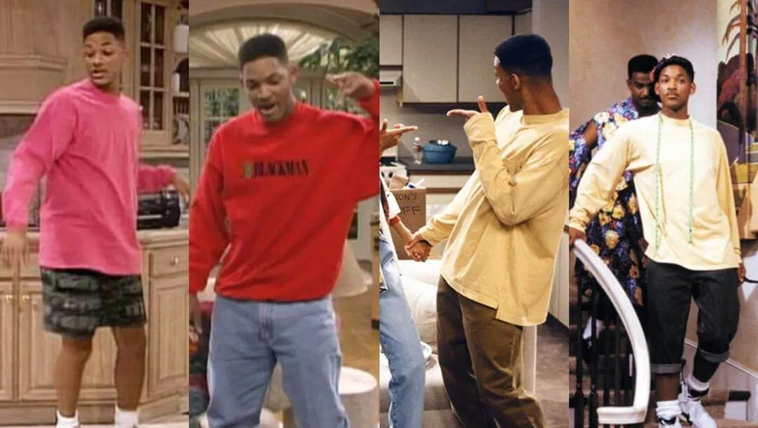 Will Smith in sports hoodies