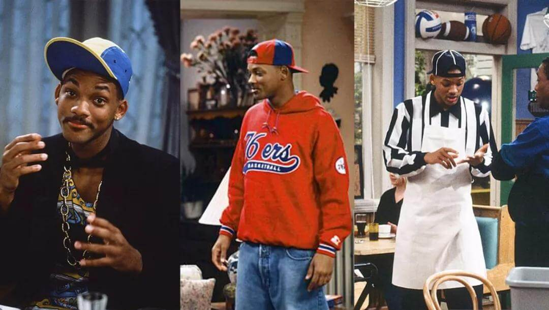 Will Smith with peaked caps
