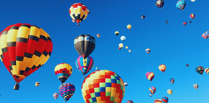 8 Amazing Places To Fly a Hot Air Balloon This Fall