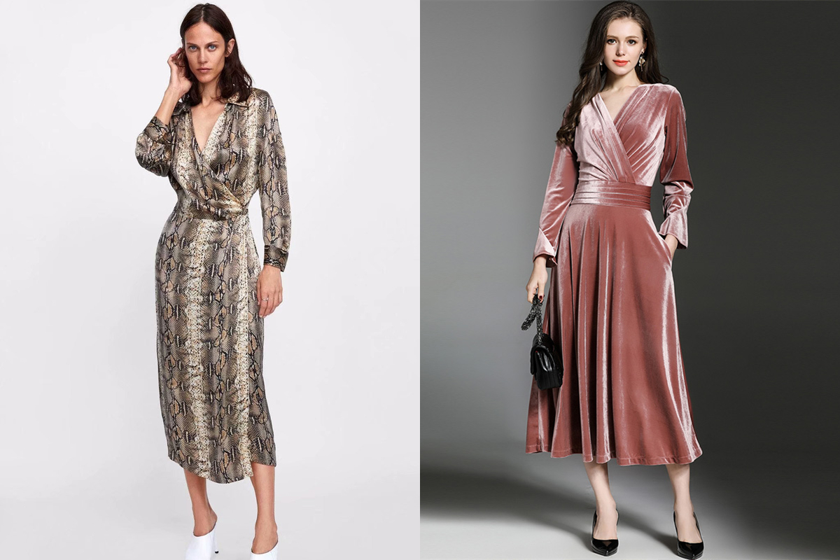 Wholesale7 Long Sleeved Dresses