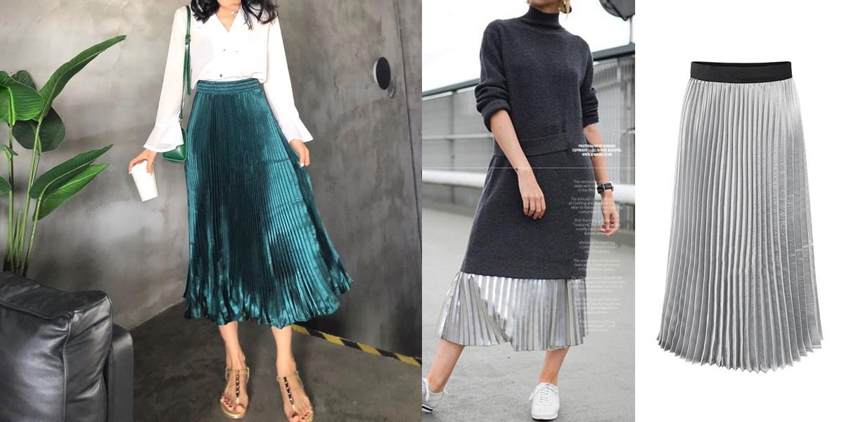 Wholesale7 Pleated Skirt