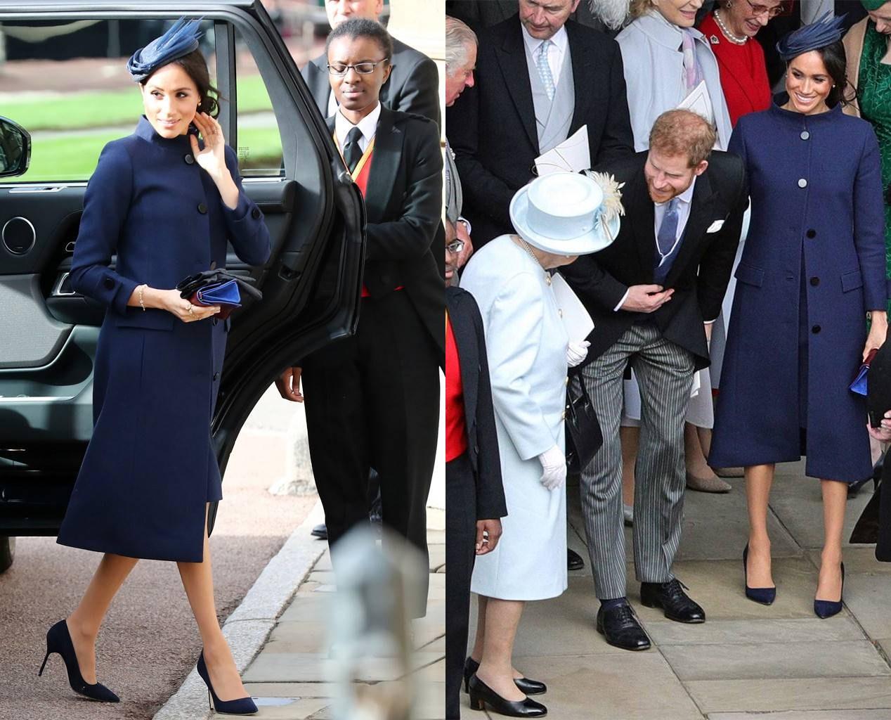 Meghan Markle in Princess Eugenie Royal Wedding
