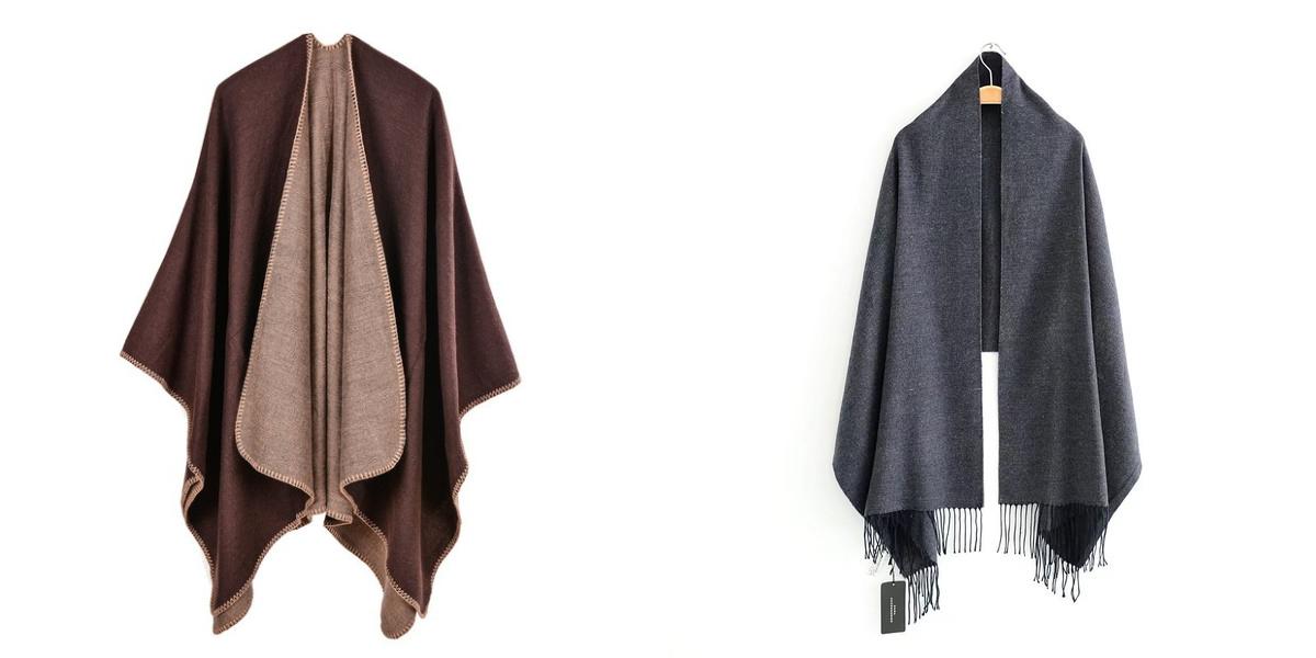 Neutral Blanket Scarf Wholesale