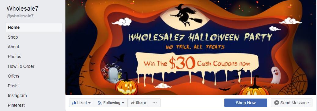 Wholesale7 Facebook