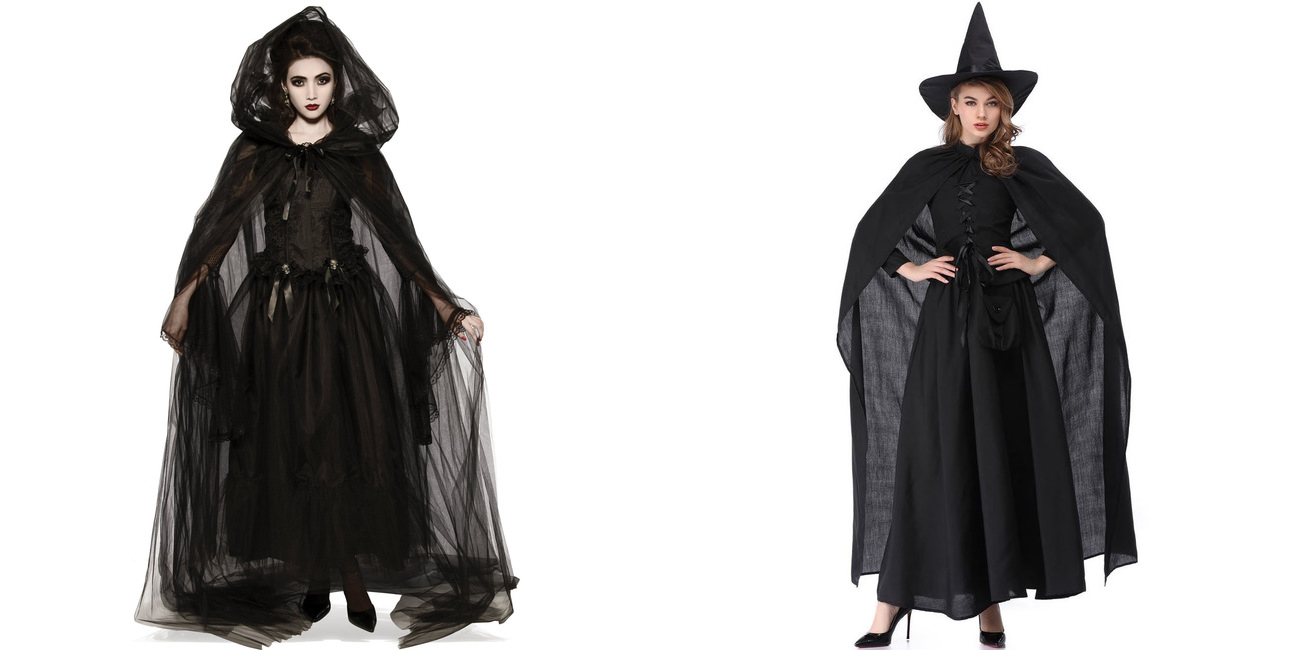 Wholesale7 Halloween Witch Costumes