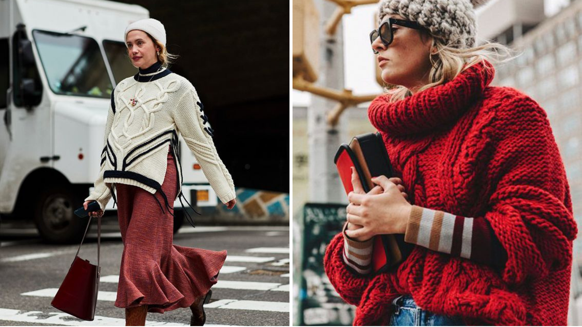 Aran Sweater style