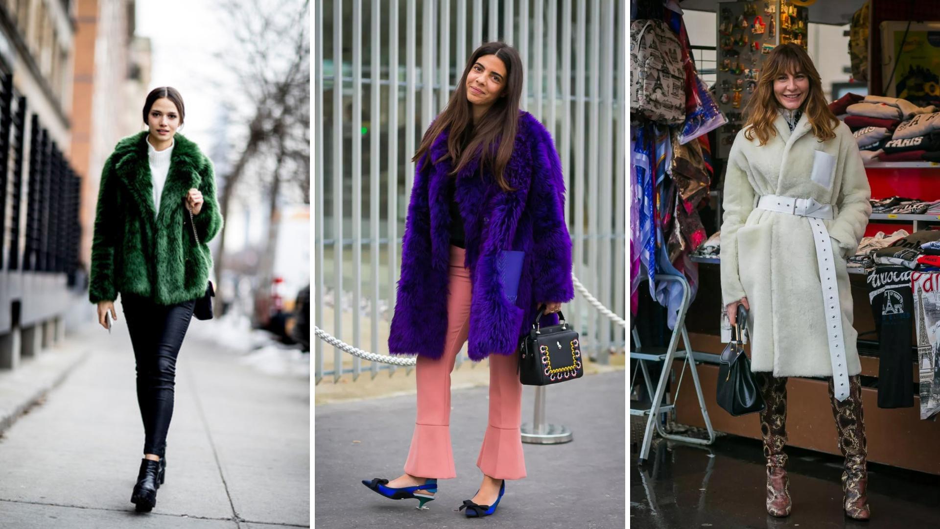 Faux Fur Coats Style