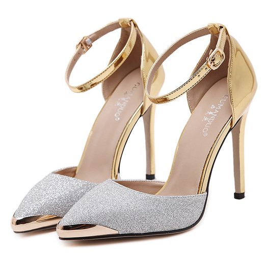 Wholesale7 Luxury Sparkly High Heels Women Pump