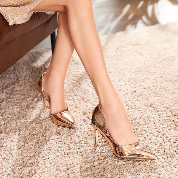 Wholesale7 OL Slip On Thin Heel Formal Female Pumps