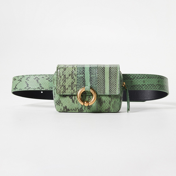 Wholesale7 Snake Print Fanny Packs