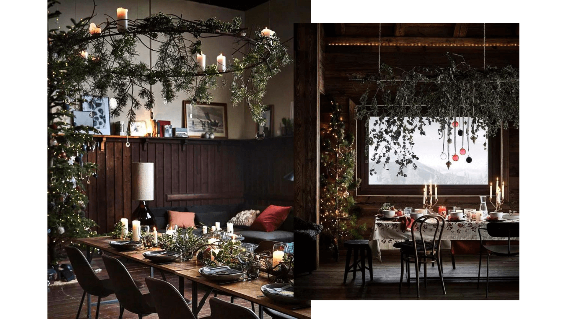 Christmas green decor
