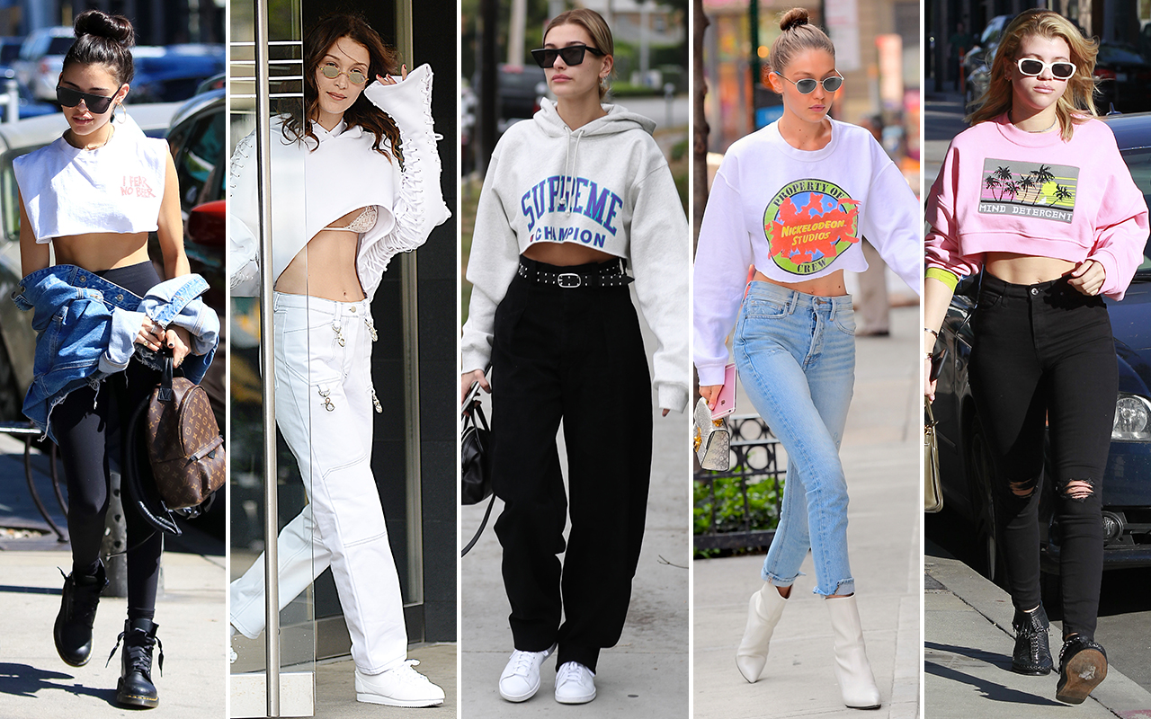 Cropped Hoodies Style