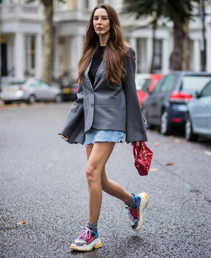 ugly sneakers street style
