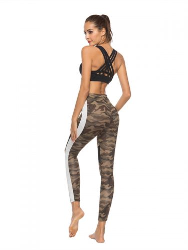 Camouflages Printed Sexy Leggings Yoga Pants