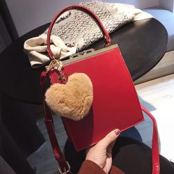 Easy Matching Solid Pretty Shoulder Bag For Women