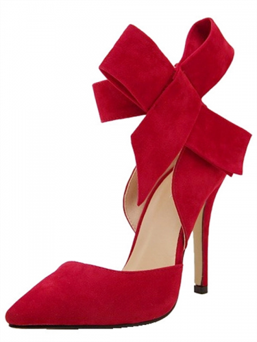 Euro Pointed Bow Closed Toe Pumps