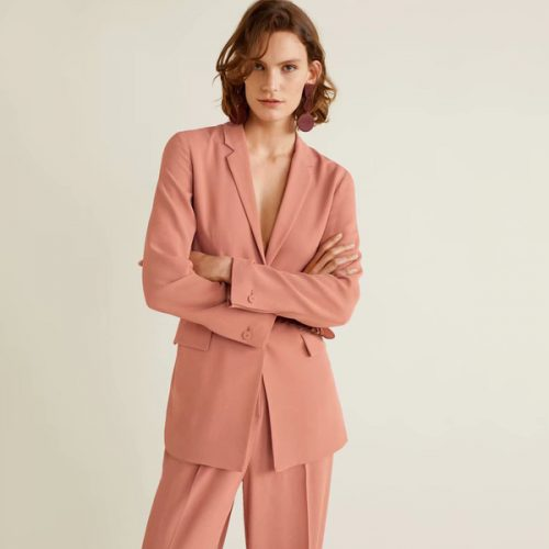 Fashion Solid Single-Breasted Female Blazers