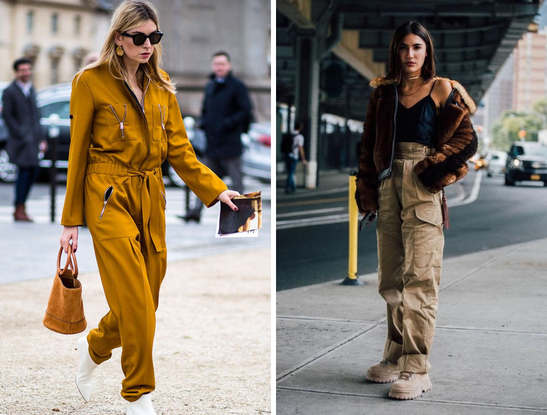 Utility and military wear