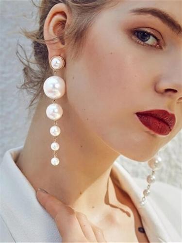 Versatile Pearls Design Earrings For Women