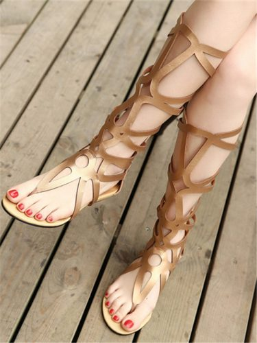 Chic Gladiator Shoes Women Sandals