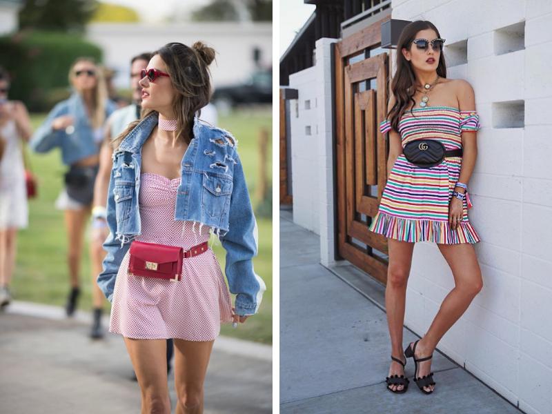 Mini Dress and Belt Bag