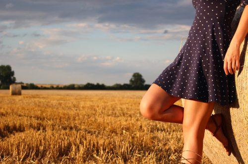 polka-dots dress