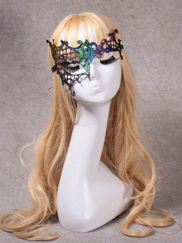 Halloween Sexy Single Eye Lace Mask for women