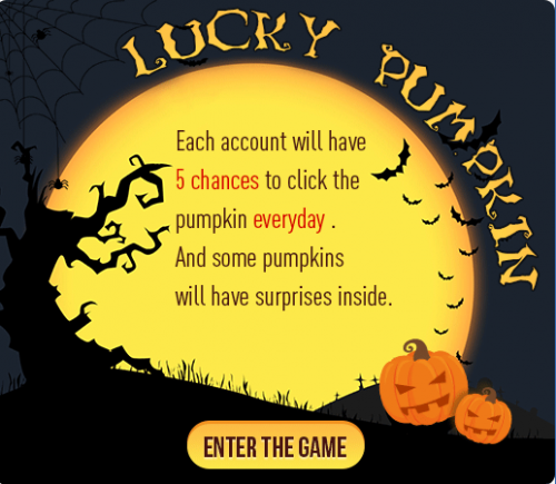 lucky pumpkin game rule