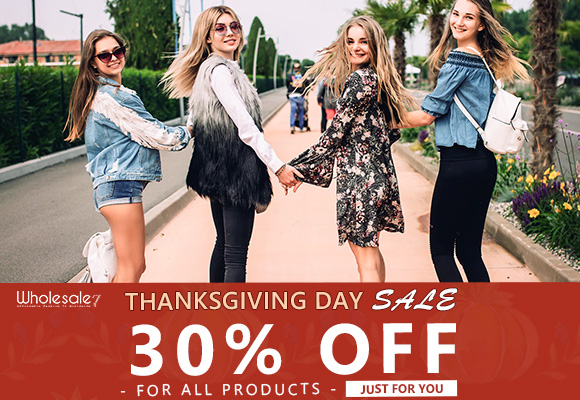 W7's Thanksgiving Day On Sale