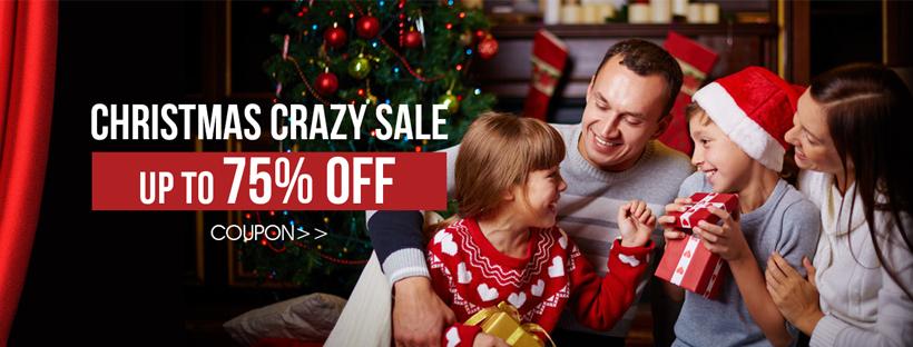 Christmas Crazy Sale