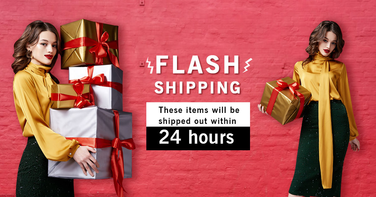 Flash Shipping-Ships within 24 hours