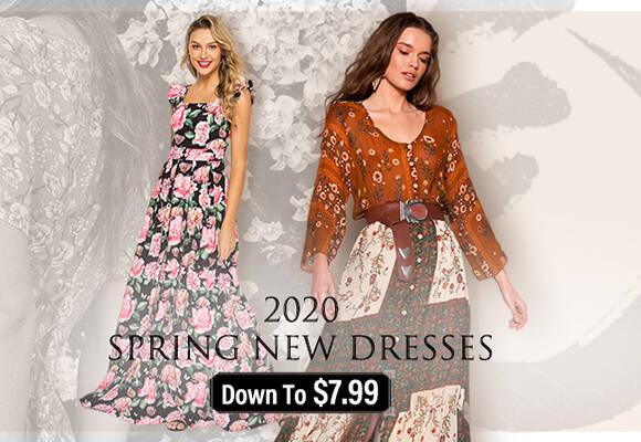 spring new dresses 2020