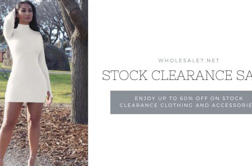stock clearance sale for clothing shops
