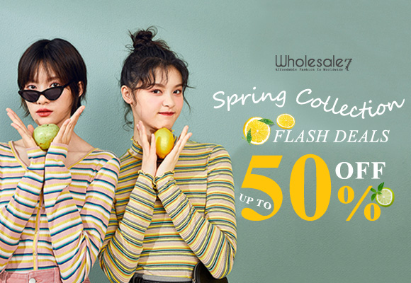spring collection- flash deals