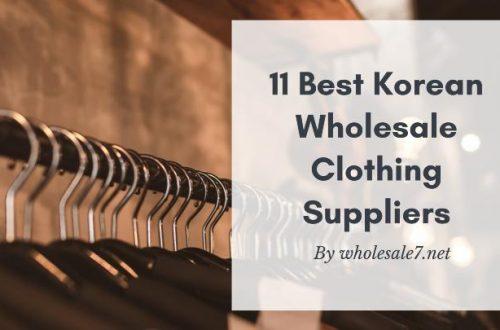 Best Korean Wholesale Clothing Suppliers